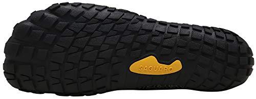 SAGUARO Hombre Mujer Barefoot Zapatillas de Trail Running Minimalistas Zapatillas de Deporte Fitness Gimnasio Caminar Zapatos Descalzos para Correr en Montaña Asfalto Escarpines de Agua, Azul, 39 EU