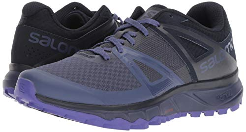 Salomon Trailster W, Zapatillas de Trail Running para Mujer, Azul (Crown Blue/Navy Blazer/Purple Opulence), 39 1/3 EU