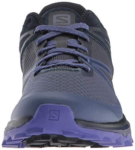 Salomon Trailster W, Zapatillas de Trail Running para Mujer, Azul (Crown Blue/Navy Blazer/Purple Opulence), 40 2/3 EU