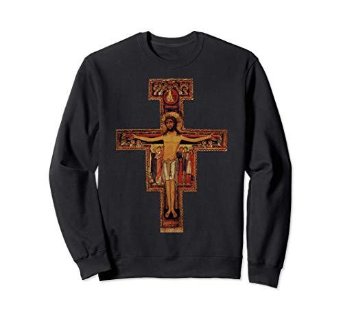San Francisco de Asís Cruz de San Damián Obsequio católico Sudadera