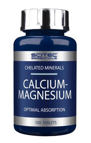Scitec Essentials Calcium- Magnesium- 100 tabs