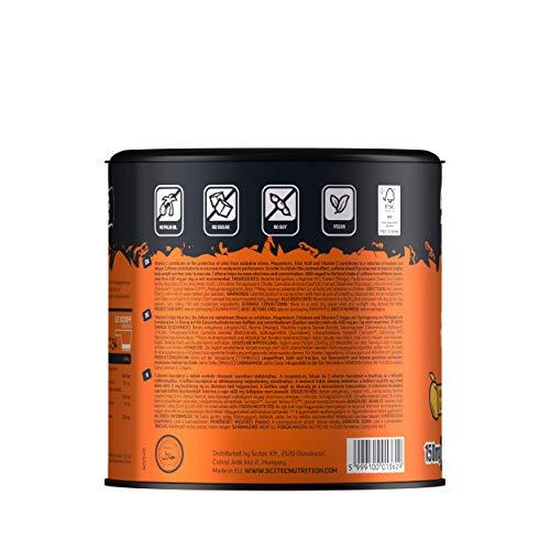 Scitec Gym Energy Boost+ Pre-Workout Powder, mango - 300 g