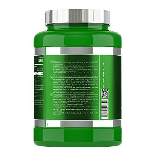 Scitec Nutrition 100% Whey Isolate Suplemento Nutricional de Proteinas con Sabor de Vainilla 2000 g