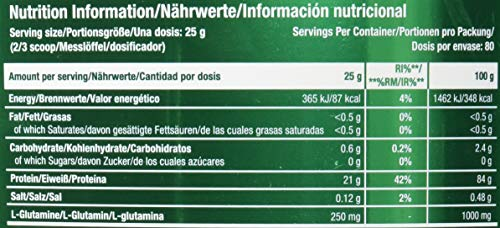 Scitec Nutrition 100% Whey Isolate, Suplimento Nutricional de Proteinas con Sabor de Banana 2000 g
