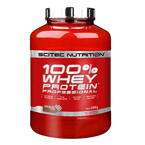 SCITEC Nutrition 100% Whey Protein Professional - 2,3 Kg Strawberry White chocolate