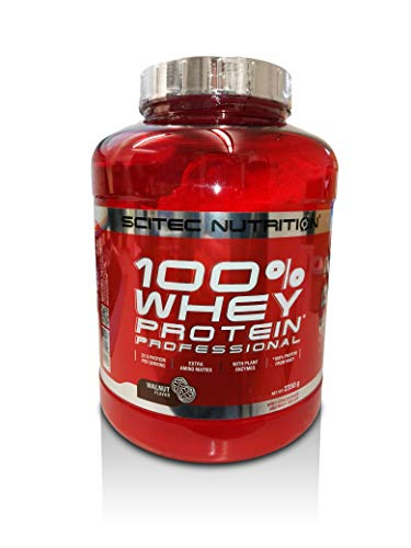Scitec Nutrition 100% Whey Protein Professional, 2350 g Dose (Walnuss)