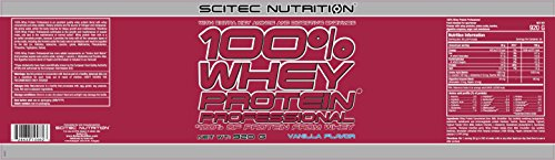 Scitec Nutrition 100% Whey Protein Professional Proteína Vainilla - 920 g
