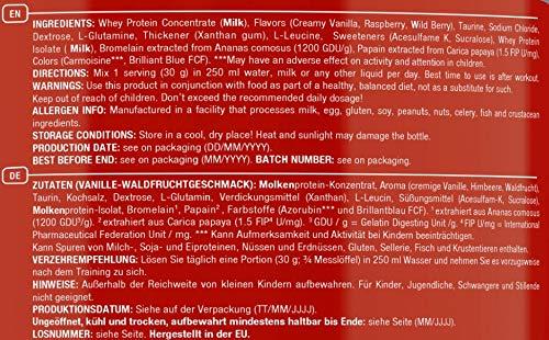 Scitec Nutrition 100% Whey Protein Professional Proteína Vainilla y Frutas de Bosque 2350 g