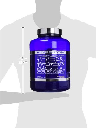 Scitec Nutrition 100% Whey Protein Proteína Chocolate - 2350 g