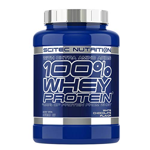 Scitec Nutrition 100% Whey Protein Proteína Chocolate Blanco - 920 g