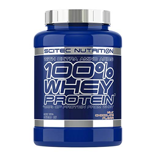 Scitec Nutrition 100% Whey Protein Proteína, Chocolate con Leche - 920 g