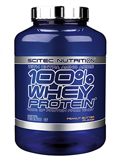 Scitec Nutrition 100% Whey Protein Proteína Crema Cacahuete - 2350 g