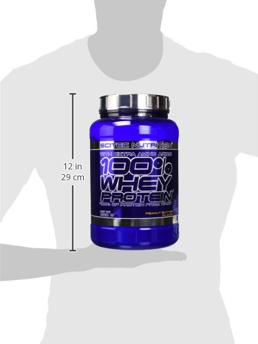 Scitec Nutrition 100% Whey Protein Proteína Crema Cacahuete - 920 g