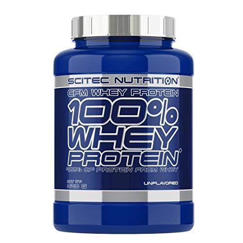 Scitec Nutrition 100% Whey Protein Proteína sin Sabor - 920 g