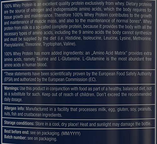 Scitec Nutrition 100% Whey Protein Proteína Vainilla - 920 g