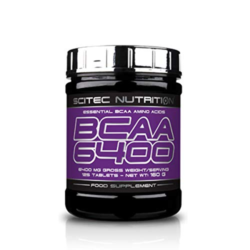 SCITEC Nutrition BCAA 6400 - 125 tabls.