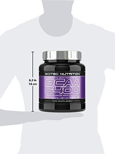 Scitec Nutrition Bcaa 6400 Aminoácidos - 375 tabletas