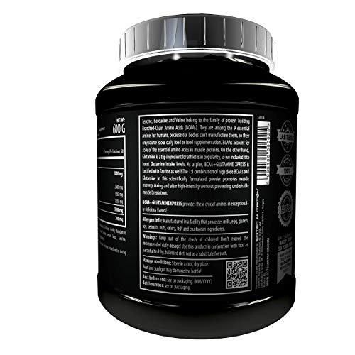 Scitec Nutrition BCAA + Glutamine Xpress Sabor Lima - 600 gr
