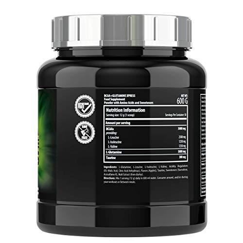 Scitec Nutrition BCAA + Glutamine Xpress Sabor Manzana - 600 gr