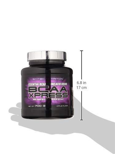 Scitec Nutrition BCAA Xpress aminoácidos manzana 700 g