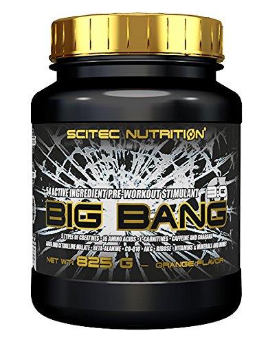 Scitec Nutrition Big Bang 3.0 fórmula pre-entrenamiento naranja 825 gr
