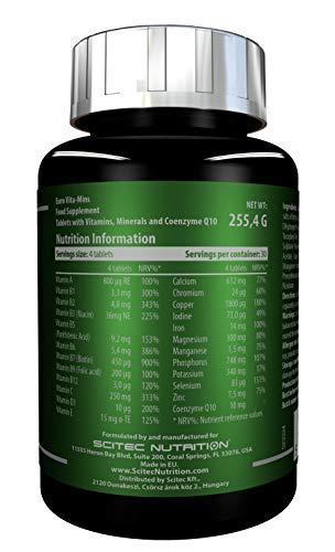 Scitec Nutrition Euro Vita-Mins, 120 Tabletten Dose