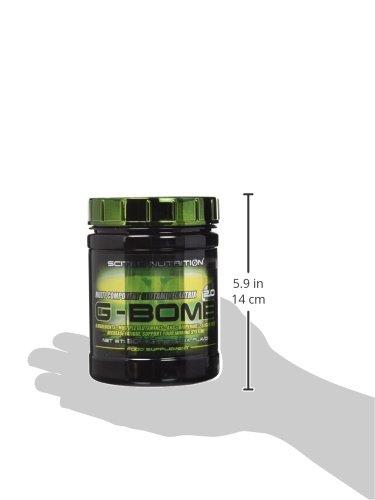 Scitec nutrition g-bomb 2.0, 308g matriz de glutamina té a limón