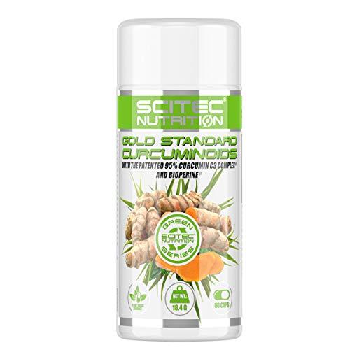 Scitec Nutrition Gold Standard Curcuminoids vitamina 60 cápsulas