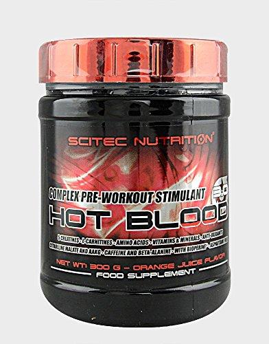 SCITEC Nutrition Hot Blood 3.0-300 gr Ponche Tropical