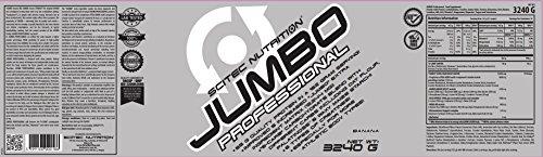 Scitec Nutrition Jumbo Professional Ganador Plátano - 3240 g