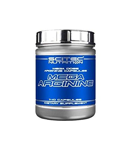 Scitec Nutrition Mega Arginine Aminoácidos - 140 Cápsulas