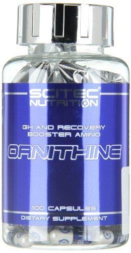 Scitec Nutrition Ornithine aminoácidos 100 cápsulas