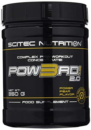 Scitec Nutrition Pow3rd! 2.0 fórmula pre entrenamiento Pera 350 gr