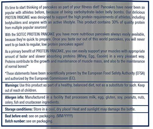Scitec Nutrition Protein Pancake comida funcional chocolate blanco-coco 1036 g