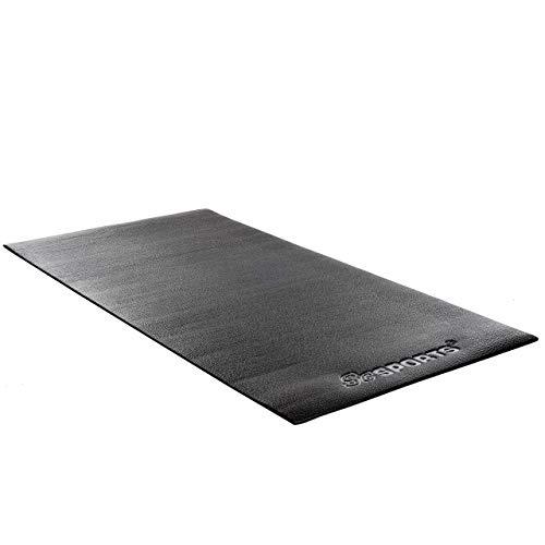 ScSPORTS Unterlegmatte für Fitnessgeräte Esterilla Protectora, Unisex Adulto, b 160 x 80 cm