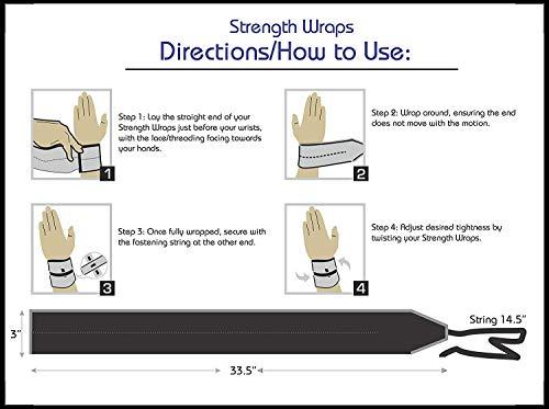 SelectCyclingWear - Muñequeras de Alta sujeción, diseño de Camuflaje, para Levantamiento de Pesas, 1 par - Verde