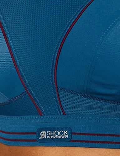 Shock Absorber Ultimate Run Bra Sujetador Deportivo, Azul (Bleu D'hiver 0az), 80A para Mujer