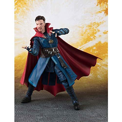 SHOP YJX Toy Statue Avengers Toy Model Movie Caracteres Colección/Artesanía/Articulación Móvil/Singular Dr. 15CM