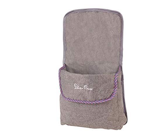 Silver Cross Paquete de Accesorios Universal para Silla de Paseo para muñecas Pop: Tejido Eton Grey
