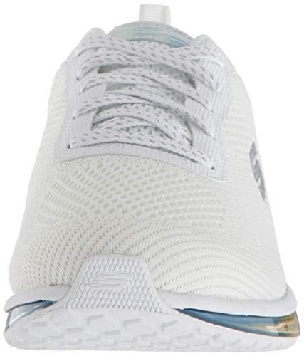 Skechers Women's SKECH-AIR ELEMENT-PRELUDE Trainers, White Multi, 5 (38 EU)