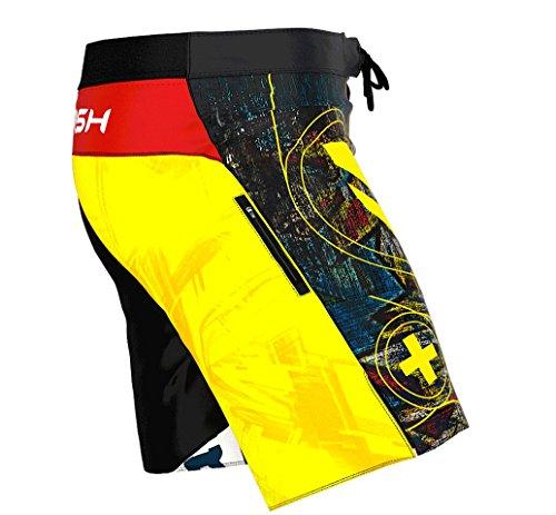 SMMASH Graffiti Pantalones Cortos para Hombres para Entrenamiento Cruzado (L)