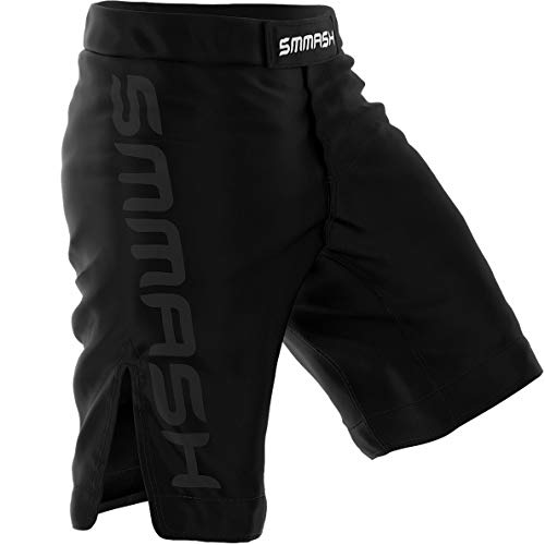 SMMASH MMA Pantalones Cortos Shadow 2.0 S M L XL XXL MMA BJJ UFC Boxen K1 (S)