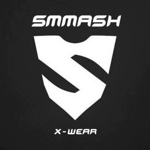 SMMASH Venom Deporte Profesionalmente Pantalones Cortos MMA para Hombre, Shorts MMA, BJJ, Grappling, Krav Maga, Material Transpirable y Antibacteriano, (L)