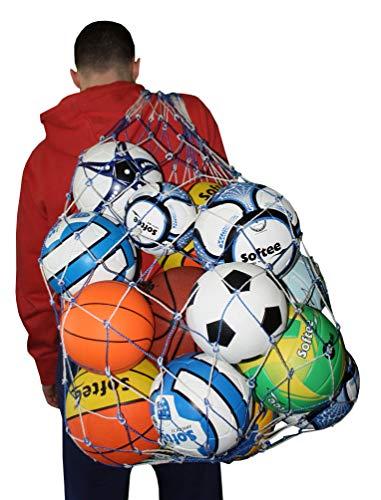Softee Equipment 0004117 Porta Balones, Unisex, Blanco, S