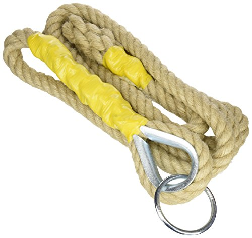 Softee Equipment 0504302 Cuerda de Trepar, Blanco, S
