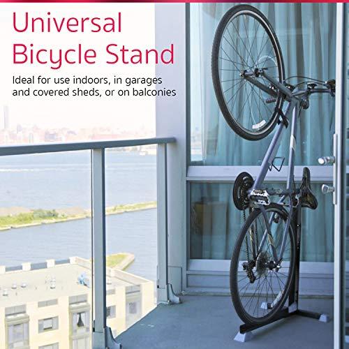 Soporte Bike Nook portátil para guardar bicicletas en interior. Rack estático de altura ajustable para ahorrar espacio