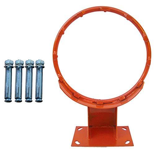 Soporte del baloncesto montado en la pared, estable resistente anti-metal del moho Baloncesto Stand, adecuados for los adolescentes con adultos, Mate de baloncesto, 45cm de diámetro estándar y linda,