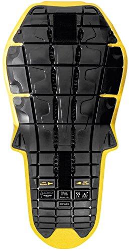 SPIDI - Protector de espalda Back Warrior Evo Inside de nivel 2 - Color negro/amarillo - Talla única