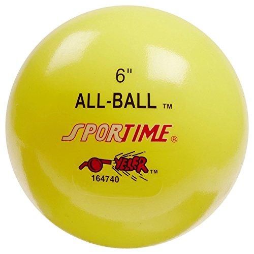"""Sportime multiusos para hinchable all-ball, 6"""", amarillo"""