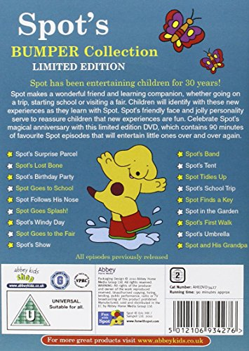 Spot's Bumper Collection [Reino Unido] [DVD]